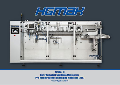 H-Serial Pre-made Pouches Packaging Machines Catalog